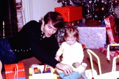 Uncle Byron and Me Christmas 1971